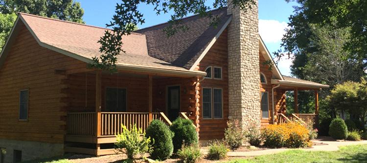 Log Home Log Repairs  Greenup County, Kentucky