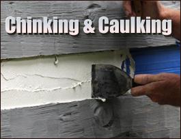 Chinking And Caulking  Greenup County, Kentucky