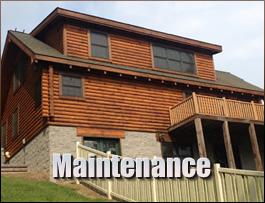 Log Home Maintenance  Greenup County, Kentucky