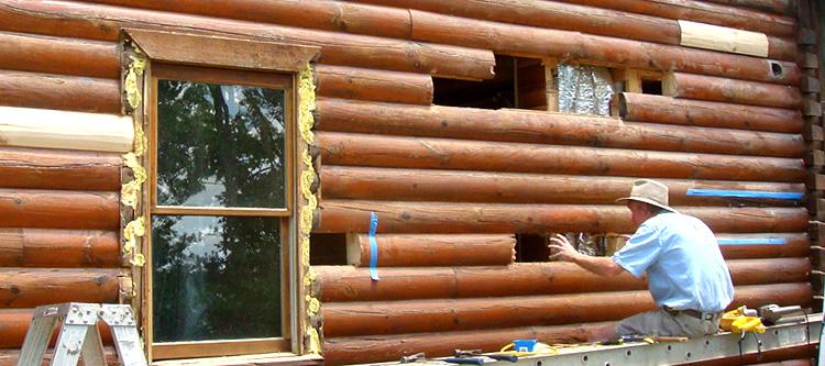 Log Home Repair Greenup County, Kentucky