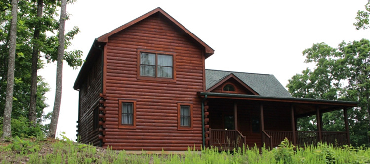 Professional Log Home Borate Application  Greenup County, Kentucky