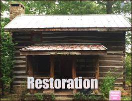 Log Cabin Restoration  Greenup County, Kentucky