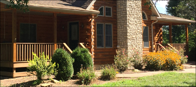 Log Home Damage Repair  Greenup County, Kentucky